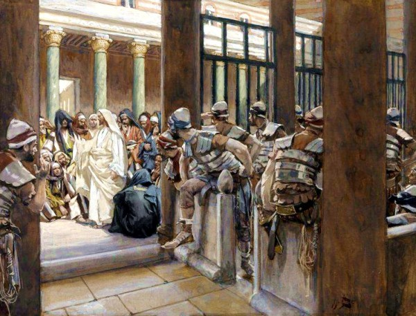 No Man Laid Hands on Him, by James Tissot