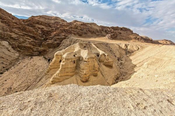 Caves, Qumran, Dead Sea Scrolls