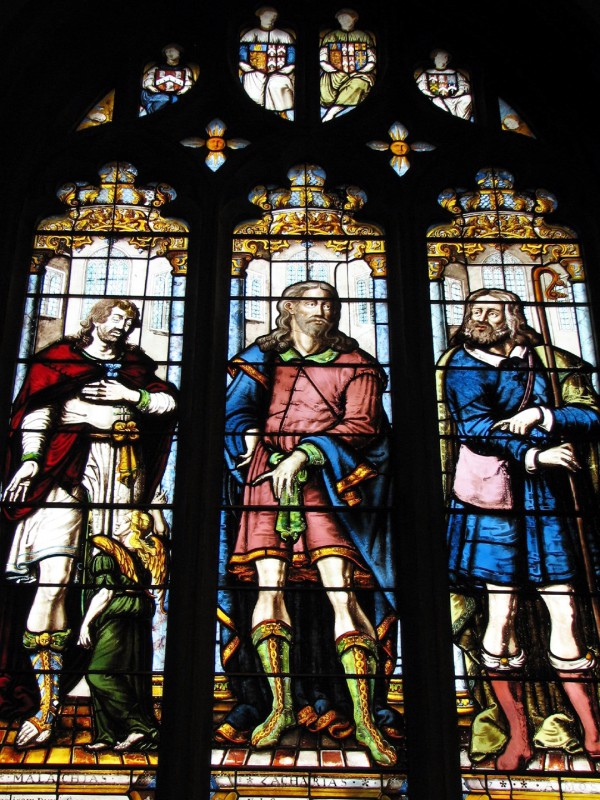 Malachi, Zachariah, and Amos, by Abraham van Linge (Fr. Lawrence Lew)