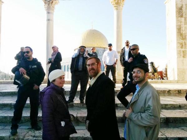 Yedudah Glick, Temple Mount