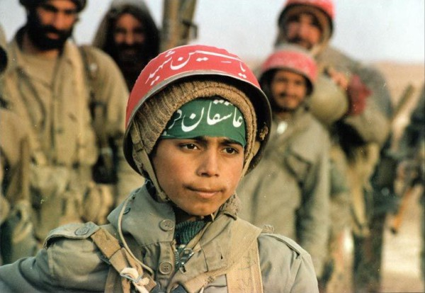 Iranian children, soldiers, Iranian youth
