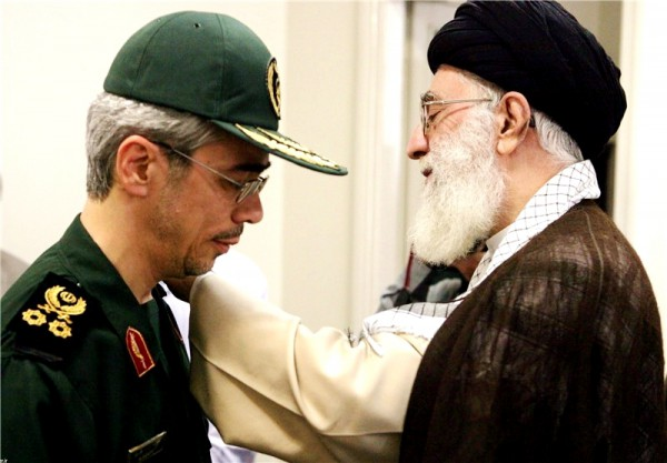Khamenei, Bagheri, Israel, Iran