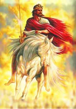 Jesus on white horse, Revelation