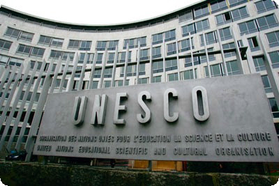 UNESCO, United Nations Educational, Scientific, and Cultural Organization headquarters in Paris
