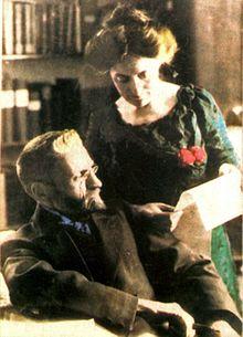 Eliezer Ben-Yehuda and wife