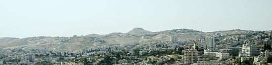 Bethlehem and Herodium Hill
