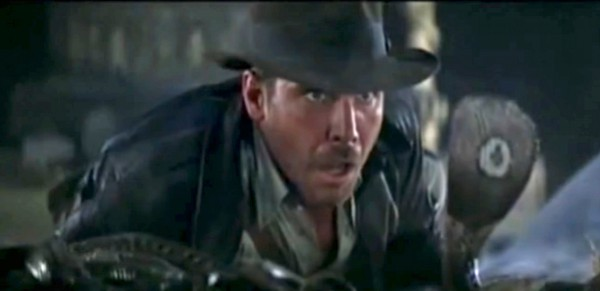 """Indiana Jones """"Why did it have to be snakes?"""""""