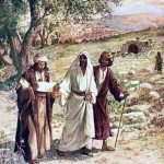 Disciples on the Road to Emmaus, by William Hole (1846–1917).