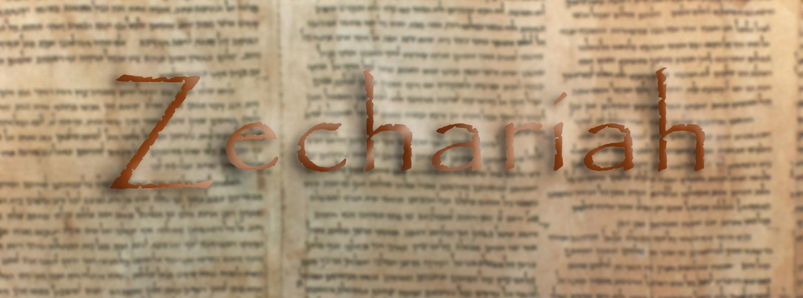 Zechariah banner