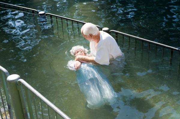 baptism, immersion, Yardenit