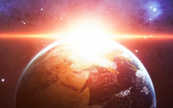 earth at creation
