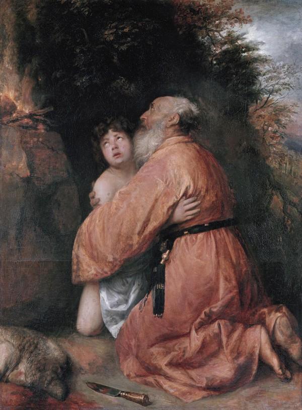 Abraham Sacrifices the Ram Instead of Isaac (Genesis 22:13-18) c. 1638, by Jan Lievensz