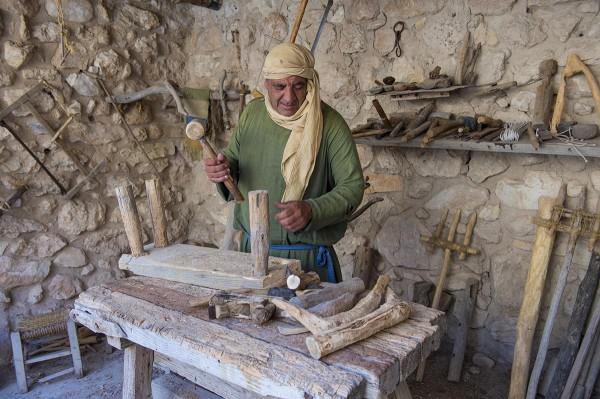 Carpenter, Nazareth Village recreation