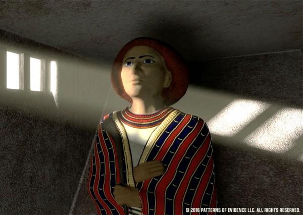 Recreated statue of Joseph found in Goshen