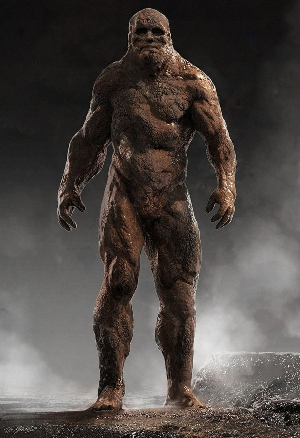 Concept art of a golem, known also as Grimm.  (NBC Universal, fair use)