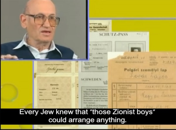 Moshe Alpan and examples of forged documents from The Story of Moshe Alpan on YouTube