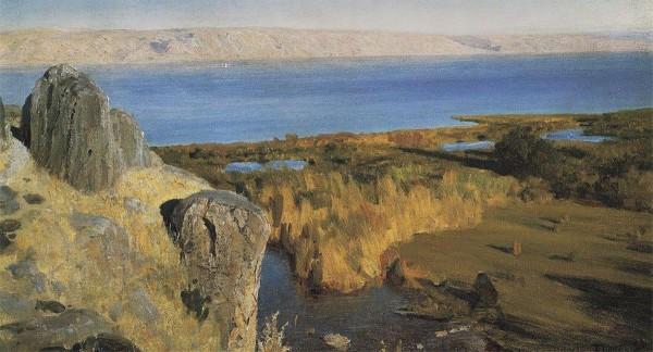 Sea of Galilee (1899), by Vasily Polenov