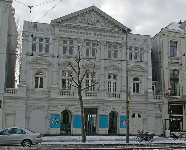 Hollandsche Schouwburg was a luxurious theatre in a vibrant Jewish  neighborhood of Amsterdam. Here, 80,000 Jews were collected between 1942–1943 for deportation to death camps. It is now the National Holocaust Memorial of the Netherlands.