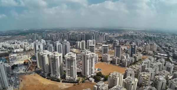 The Jewish settlement of Petah Tikvah (Gateway to Hope) was founded in 1878. It is located seven miles east of Tel Aviv with over 230,000 residents today.  (YouTube capture)