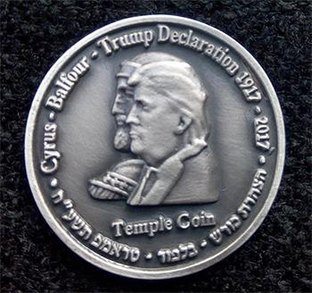 Cyrus-Trump collectors coin
