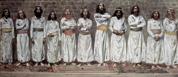 The Choristers, by James Tissot (1836–1902)