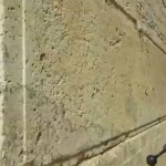 In ancient building practice, a cornerstone like this one (on the southern wall of the Temple Mount in Jerusalem) was the first laid stone, onto which all other stones would be laid. (YouTube capture)