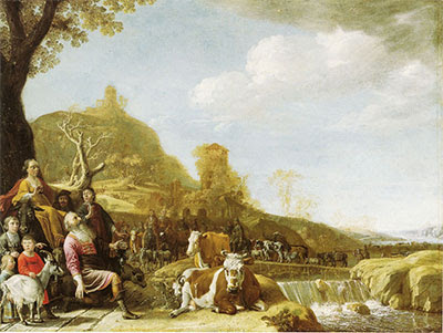 God Appearing to Abraham at Shechem, by Pouwels Potter (1625–1654)