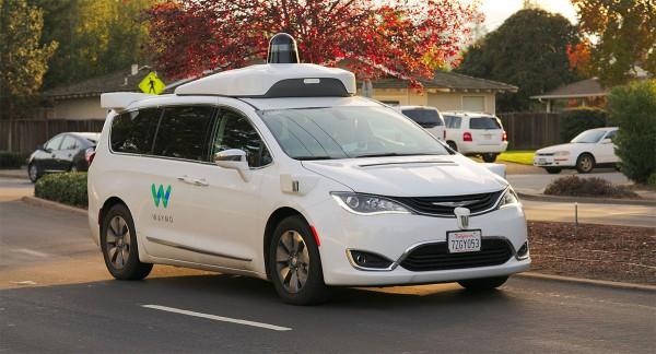 Chrysler Pacifica Hybrid Waymo Google Car
