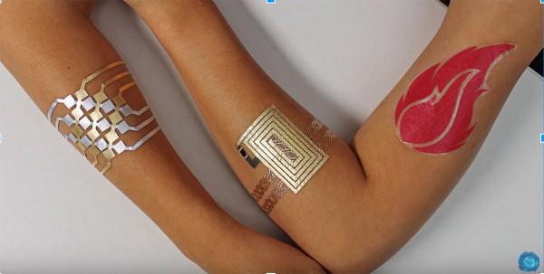 DuoSkin electronic tattoos